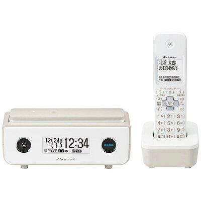 Pioneer デジタルコードレス留守番電話機 TF-FD35W(TY)