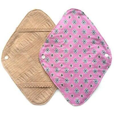 華布 オーガニックコットンの布ナプキンホルダー 約17×約23cm 1枚入り プロヴァンス/ピンク