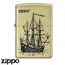 zippo ー ライター 帆船 200ベース ハンセン ゴールドバレル