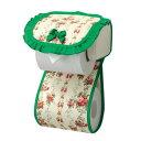 トイレ用品 グリーンの森 トイレットペーパーホルダー グリーン