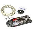 SUNSTAR サンスター スプロケット フロント・リアスプロケット&チェーン・カシメジョイントセット チェーン銘柄:EK製GPGP530ZVX3 ゴールドチェーン ZX-9R