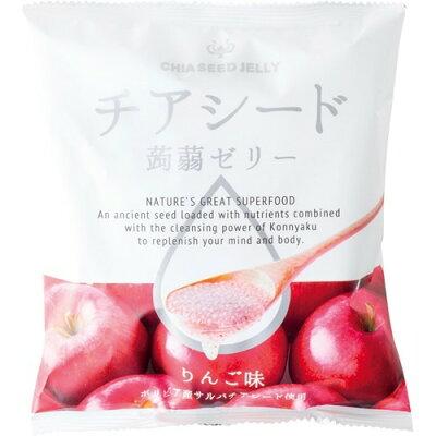 チアシード蒟蒻ゼリー りんご味(10コ入)