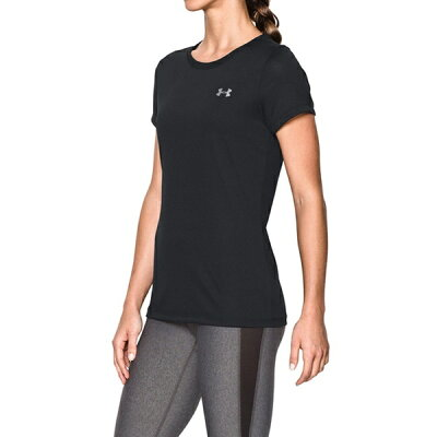 UNDER ARMOUR レディース Tシャツ 半袖 テック クルー ヒートギア ルーズ WTR3259 UNDER ARMOUR