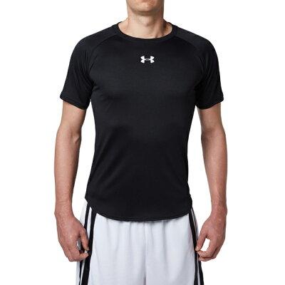 アンダーアーマー UNDER ARMOUR ロングショットTシャツ UA LONGSHOT TEE 001:BLK/WHT 1316918 メンズ