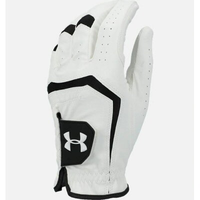 アンダーアーマー UNDER ARMOUR メンズ ゴルフ バーディー ゴルフグローブ 2.0 UA Birdie Golf Glove ホワイト/ブラック/ブラック 1331180 101