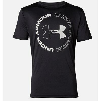 UNDER ARMOUR アンダーアーマー Tシャツ 半袖 ジュニア テックデザインロゴ 1355021-001