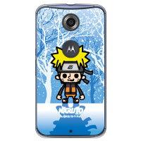 (スマホケース)ナルト疾風伝シリーズ NARUTO×PansonWorks 冬景色 うずまきナルト (クリア)/ for Nexus 6/Y!mobile