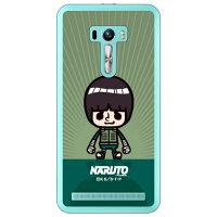(スマホケース)ナルト疾風伝シリーズ NARUTO×PansonWorks キャラクター ロック・リー (クリア)/ for ZenFone Selfie ZD551KL/MVNOスマホ(SIMフリー端末)
