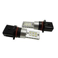 まめ電  MAMEDEN LED フォグランプ PSX26W ホワイト 白 SAM-SMD