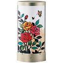 さくらほりきり 手作りキット LEDあかりアート リーフ型 ローズガーデン 巾13.5×奥行7.5×高さ28.5cm