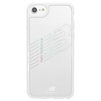 エムディーシー MDC New Balance TPU+PC ケース/ホワイト iPhone8 md-74255-6