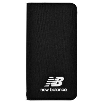 エムディーシー MDC New Balance 手帳ケース/ブラック iPhone8 md-74257-1