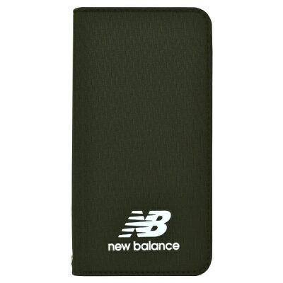 エムディーシー MDC New Balance シンプル手帳ケース/カーキ iPhone8 md-74257-2