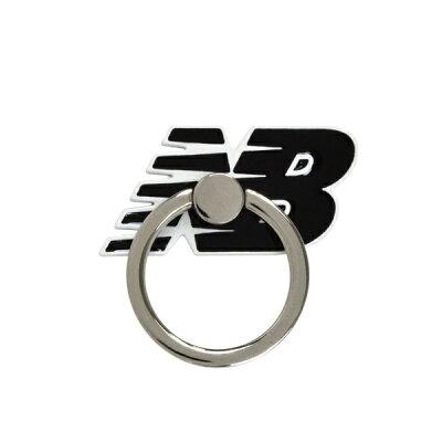エムディーシー MDC New Balance スマホリング/フライングロゴ/ブラック md-74265-1