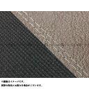 GRONDEMENT グロンドマン その他シートパーツ 国産シートカバー 張替タイプ カラー:ダークブラウン・スベラーヌブラック/透明ダブルステッチ ツートン グロム MSX125