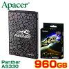 Apacer SSD Panther パンサー AS330シリーズ 960GB AP960GAS330-JP 日本版