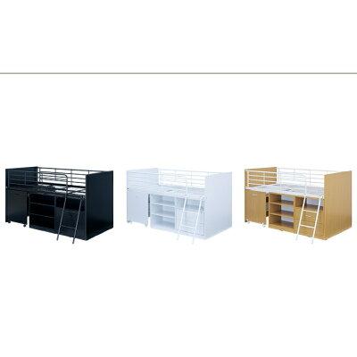 コンパクト システムベッド    Leaf2 リーフ2 3色 システムベッドデスク