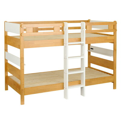 長く使える3way仕様/耐荷重 /jissg規格適合設計宮付き 二段ベッド