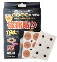 磁痛貼り 60粒入り 190mT TOKI磁気バンEX 家庭用永久磁石磁気治療器製