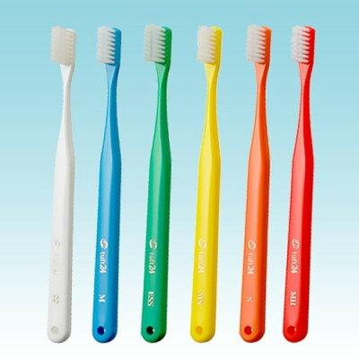 オーラルケア タフト24 一般成人用歯ブラシ キャップ無し M アソート(5本入)