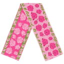 シュニール織り エチュード2 マフラータオル ピンク