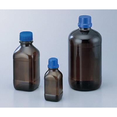 ガラスボトル 茶褐色 1000ml 1-8232-04