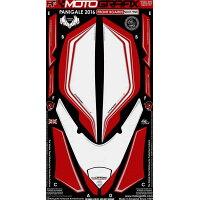 MOTOGRAFIX モトグラフィックス ステッカー・デカール ボディーパッド カラー:レッド ホワイト PANIGALE959/1299/S