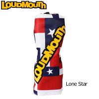 ラウドマウスゴルフ Loud Mouth Golfヘッドカバー UT用 有り/ダイヤル式/2、3、4、5、X Lone Star 115