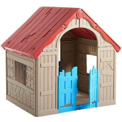 KETER 折りたたみ式プレイハウス WonderFold playhouse/ 大型遊具