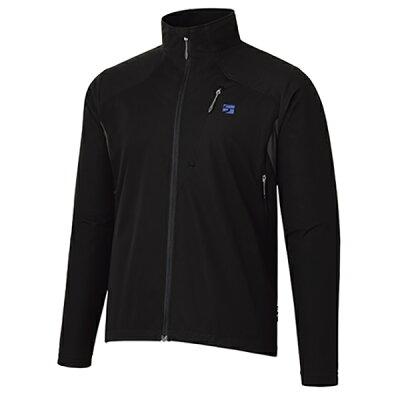 finetrack フロウラップジャケット ms bk fam0901男性用 ブラック