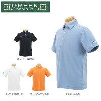 グリーンデザインズ メンズ 半袖 ポロシャツ GDS2ゴルフウェア