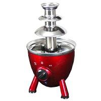 チョコレートファウンテン チョコフォンデュ チョコファウンテン チョコレートフォンデュ フォンデュ鍋 チョコ ホームパーティ