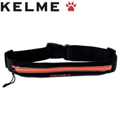 KELME  ウエストバッグ K16R9003 BK/ネオンオレンジ F