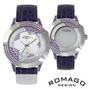 ROMAGO DESIGN腕時計ロマゴデザイン RM011-1476SV-PU スターレット Starlet レディース腕時計 auktn