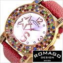 ROMAGO DESIGN ロマゴ デザイン 腕時計 RM013-1607ST-RD レディース Bubble series バブルシリーズ