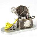 C3330 ミニチュアクロック Miniature Clock Collection フィッシング C3330