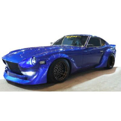 1/43 Nissan Fairlady Z S30 STAR ROAD Blue ignitionモデル IG1422