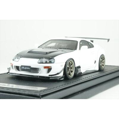 1/43 Toyota Supra JZA80 RZ White イグニッションモデル