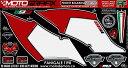 MOTOGRAFIX モトグラフィックス ステッカー・デカール ボディーパッド Panigale パニガーレ 12- Panigale パニガーレ S 12-