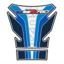 MOTOGRAFIX モトグラフィックス タンクパッド カラー:ブルー ホワイト GSR750