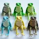 ガチャポン 座る蛙