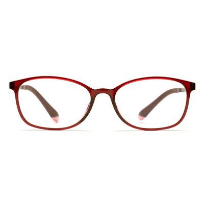 小松貿易 自分の目でピントを探すシニアグラス PINT GLASSES PG-707-RE レッド