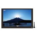 ポータブルテレビ フルセグ HDMI入力端子 録画機能 車載 液晶テレビ 15.6インチ