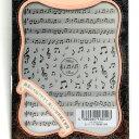 レジンクラブ 楽譜と音符 シールタイプ レジン用シール Resin club