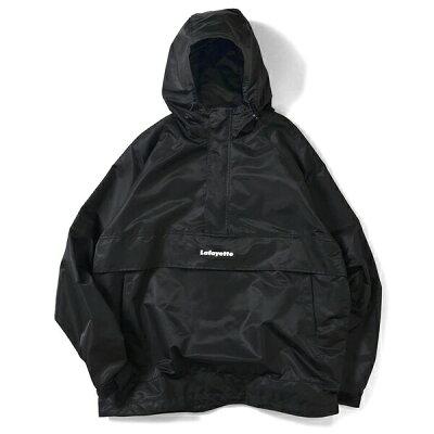 ラファイエット ナイロンジャケット LAFAYETTE Reflector Piping Nylon Anorak Jacket LFT19SS001 BLACK ブラック