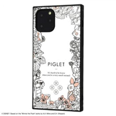 ディズニー iPhone11 Pro 耐衝撃ハイブリッドケース くまのプーさん ボタニカル_02 KAKU イングレム IQ-DP23K3TB/PO015