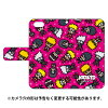 (スマホケース)ナルト疾風伝シリーズ NARUTO×PansonWorks 手帳型スマートフォンケース オールスターズ (ピンク)/ for iPhone SE/5s/SoftBank