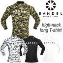 BANDEL ハイネックロングTシャツ カモフラージュ S