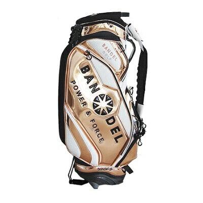 BANDEL GOLF バンデル ゴルフ Golf Bag004 スタンドバッグ キャディバッグ ゴールド
