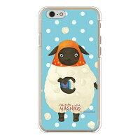 (スマホケース)やんやんマチコシリーズ マチコ ブルー (クリア)/ for iPhone 6/Apple (Coverfull)